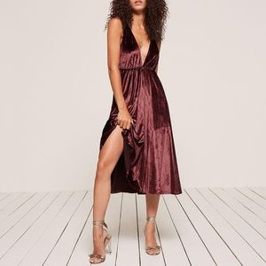 Coppola Dress - Crimson - M - Like New
